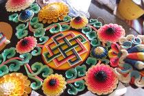 バター細工の花