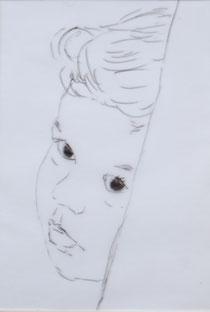 eine Zeichnung von Pia