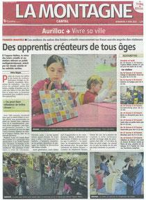 Salon des Loisirs Créatifs - Aurillac - Juin 2013