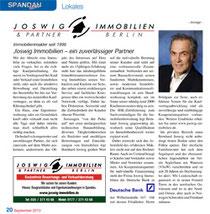 positive Bewertung für Makler in Berlin Brandenburg: Beratung, Bewertung, Vermittlung und Verkauf von Immobilien