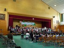 8 二部合唱「歌よ ありがとう」4学年