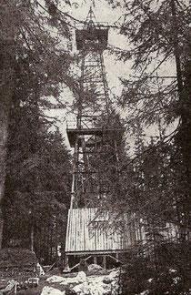 Bohrturm im Niederholz 1951