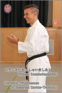 Karate Erlach, Karate-Training für Erwachsene, John Görmann