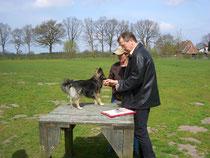 Apr.2008  -- Hundeführerschein mit Tibo in Horst