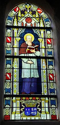 Vitrail de St François de Salles