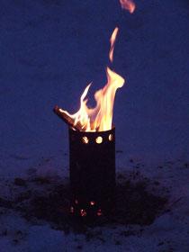 Feuerrohr - Outdoorofen - HOBO-Ofen
