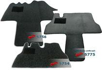 Autoteppich/ Autofussmatte für Citroen C25 und Citroen Jumper