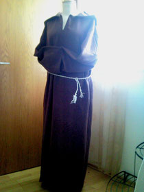 Mönch mit Kaputze