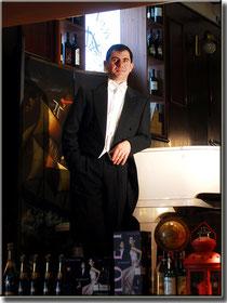 Maurizio Palmieri al pianoforte