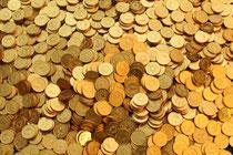 Von Chocolatier Aeschbach hunderte Goldtaler zum Verschenken