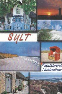 Ansichstkarte von Sylt für die Rote Bank von Westphalen - Das gute Leben