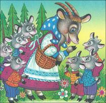 Волк и семеро козлят