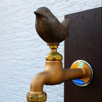小鳥の蛇口