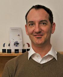 Hörgeräteakustiker Alexander von Kameke