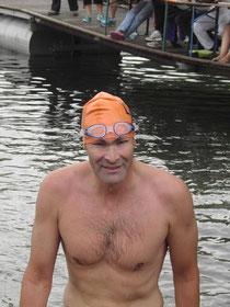 Frank Feldmann im Ziel