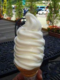 長門牧場のソフトクリーム