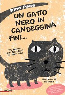 Alcuni di questi haiku sono tratti da: Pino Pace, Un gatto nero in candeggina finì... e altri 35 haiku per bambini di ogni età (2012) Edizioni Notes, Torino.