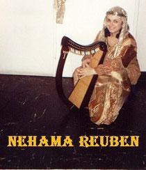 Nehama REUBEN biblical harp Israel recording psalms 2000
