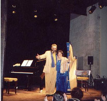 Nehama REUBEN & Shimon REUBEN. DUO REUBEN. harp & piano Concert festival Arles 2002
