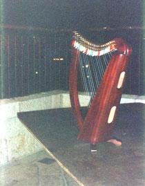 La harpe de Nehama au souffle du vent du nord JERUSALEM aout 1991