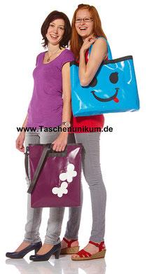 Bild: Robuste Taschen aus LKW Plane www.Taschenunikum.de Eigene Produktion von CA Christian Anthuber