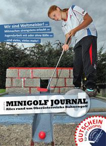 das neue Minigolfjournal 2011 - ab sofort für nur € 5,-  erhältlich !