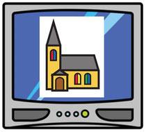 """Reli-Ethik-Blog vom  9. Februar 2021   """"Fernsehgottesdienst"""""""