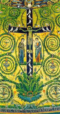 Cruz Gloriosa, en san Clemente Romano