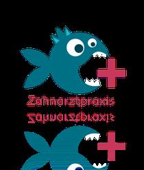 Kinder - Zahnarzt Logo Entwurf