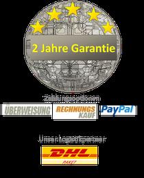 Zahlungsarten/Garantiebedinungen