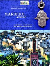 """Marokko Momente - """"… ne blaue Schal aus Marrakesch"""""""
