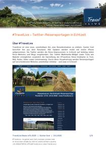 TravelLive Infobroschüre