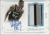 DAVID ROBINSON / Auto Patch - No. PA-DR  (#d 25/25)