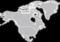 liste des animaux d'amerique du nord par ordre alphabetique