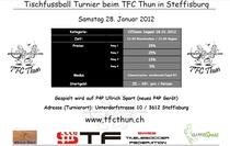 Auschreibung TFC Thun 28.1.12