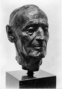 Hesse Skulptur im Museo Hesse in Montagnola