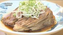豊橋の居酒屋さん メカジキのハモニカ煮