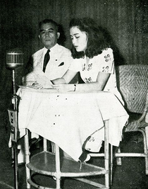 Vargas and his daughter, 1943