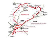 Übersichtsplan Nürburgring