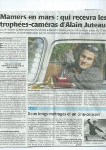 Alain Juteau/ Mamers en Mars/Le Maine Libre 23/03/2014
