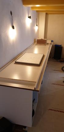 aanrechtblad beton zelf maken