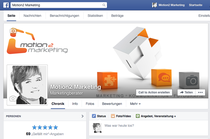 motion2 marketing Facebook Seite