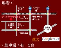 オールドサウンド仙台 地図