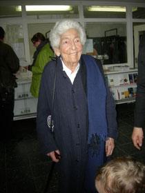 Elsbeth Juda (1911-2014) - Foto: Martin Frenzel (FLS)