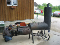 Barbecue-Ofen