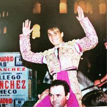 Biografía taurina de la Torera Española Cristina Sánchez