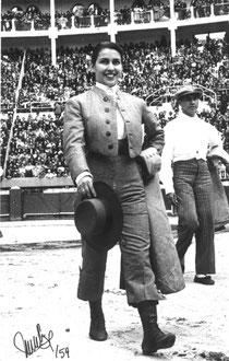 Biografía taurina de la Torera Colombiana Morenita del Quindío