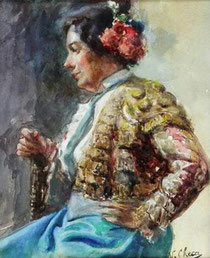 Biografía taurina de la Torera Española Martina García Lagartijo mujeril