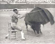 Rafael, Gallo, Gallito, Divino Calvo, Gabriela, Joselito, Santa María, Torero, maestro, matador, célebre, gitano, gitana, Sevilla, Tauromaquia, toros.