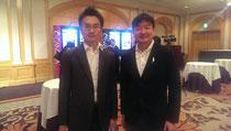 奈良の熊本先生(左)と